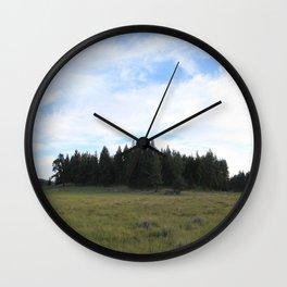 Mount Laguna, CA Wall Clock