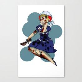 Suzy QQ Canvas Print