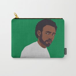 CHILDISH GAMBINO | green Carry-All Pouch