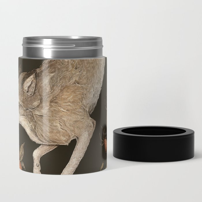 The Wolf and Rose Hips Can Cooler