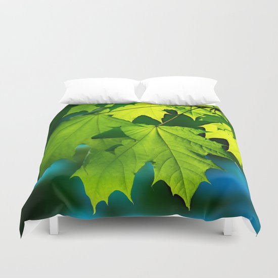 Tales From The Maple Wood Duvet Cover