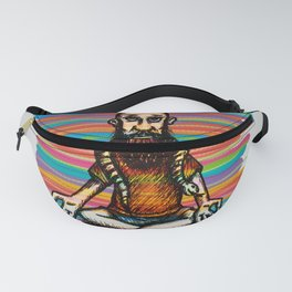Bearded and ex poison snake Fanny Pack