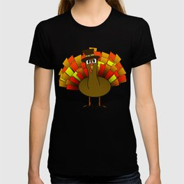Thanksgiving Turkey Pilgrim T-shirt