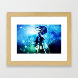 sinon strikepose Framed Art Print