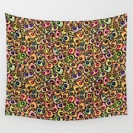 Calaveras del Día de los Muertos. Wall Tapestry