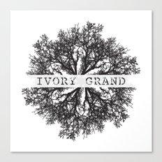 Ivory Grand Canvas Print