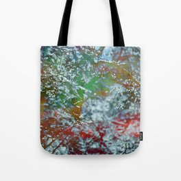 Green Frost Tote Bag