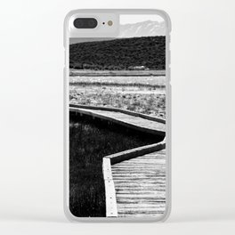 Path to Peace 2 Clear iPhone Case