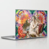 netflix Laptop & iPad Skins featuring netflix and chill by STORMYMADE