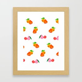 Jambu II (Wax Apple) - Singapore Tropical Fruits Series Framed Art Print