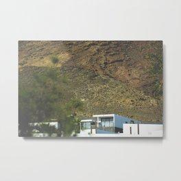 Lanzarote White House Metal Print