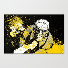 That Yellow Bastard Canvas Print