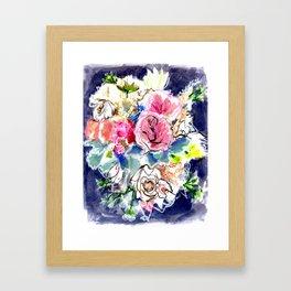 Florals - Chrystal Framed Art Print