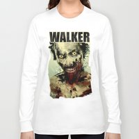 blood Long Sleeve T-shirts featuring UNDEAD by Fresh Doodle - JP Valderrama