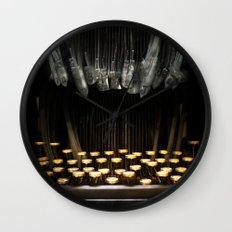 The Teethwriter Wall Clock