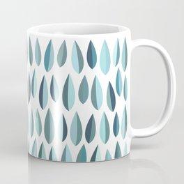 Mid-Century Modern Leaf pattern Collection 3 Coffee Mug