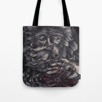 atheist Tote Bags featuring Jaded Art by Jaded Art    By James Schreck