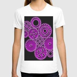 Purple Gears T-shirt
