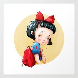 Sad Girls Art Print