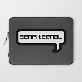 Sempiternal - Grey Laptop Sleeve