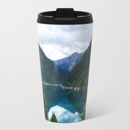 长海 // Long Lake, Jiuzhaigou Travel Mug