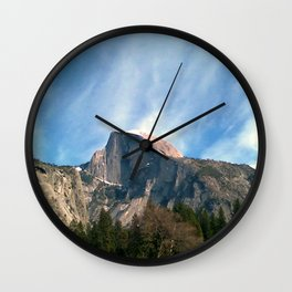 Picturesque Mountain Wall Clock