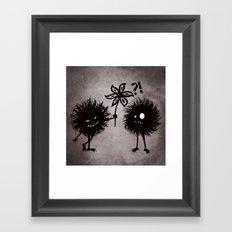 Kind Evil Bugs Framed Art Print