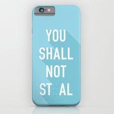 The Eighth Commandment iPhone 6s Slim Case