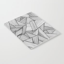 Straight Lines Notebook