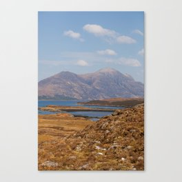 Loch Carron Canvas Print