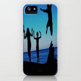 Brownie's beach silhouette iPhone Case