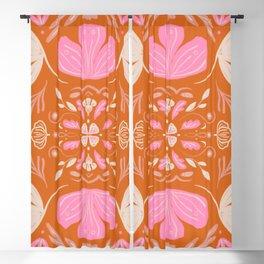Vintage Symmetry Blackout Curtain