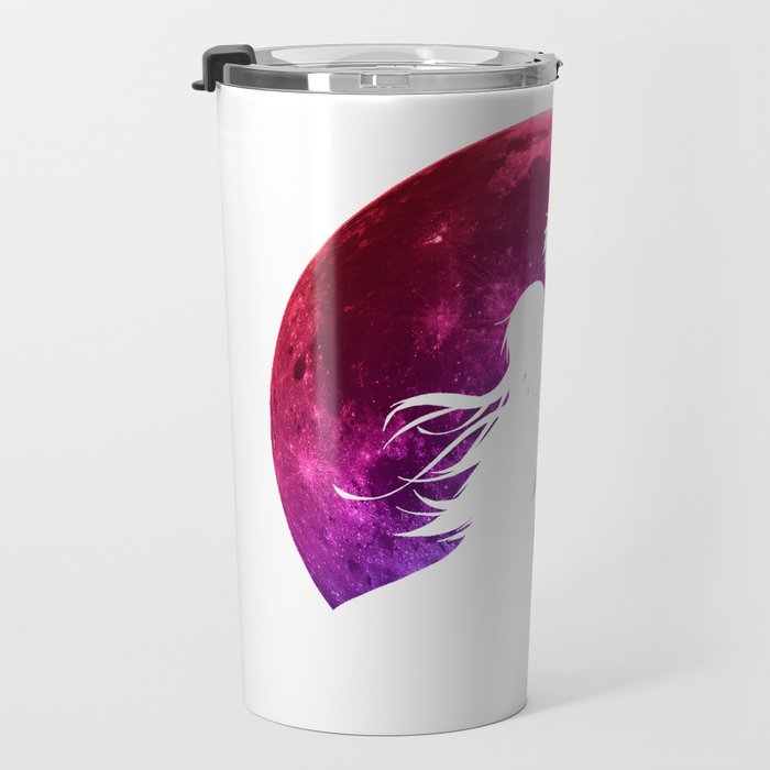 Anime Moon Inspired Shirt Travel Mug