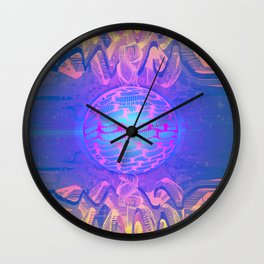 Aqua Station II Wall Clock