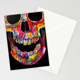 Chromatic Skull Stationery Cards