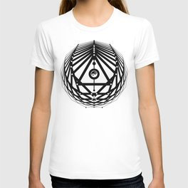 Radiant Abundance (white-black) T-shirt