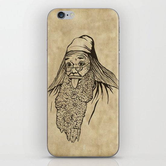 Albert Dumblestein iPhone & iPod Skin