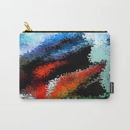 Inner Passion Abstract Art By Annie Zeno Carry-All Pouch