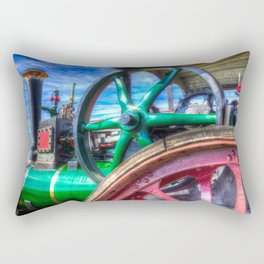 Clayton And shuttleworth Traction engine Rectangular Pillow