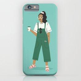 Coffee Girl iPhone Case