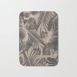Tropical Jungle Leaves Dream #5 #tropical #decor #art #society6 Bath Mat