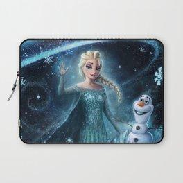 Wanna build a snowman? Laptop Sleeve