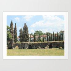 Roman Amphitheater Art Print