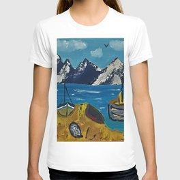 Mediterranean Village T-shirt