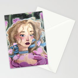 Rosy Rose Stationery Cards