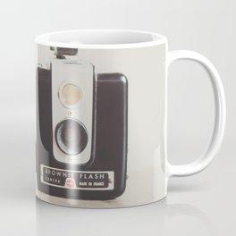 a vintage kodak brownie camera with delicious french macarons Coffee Mug