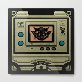 Beezelbubba Game and Watch  Metal Print