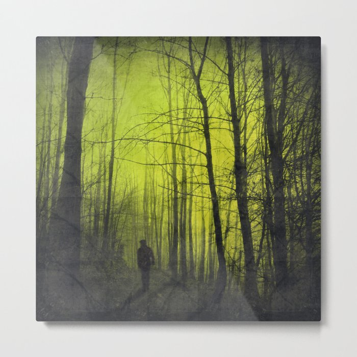 scene from a nightmare Metal Print