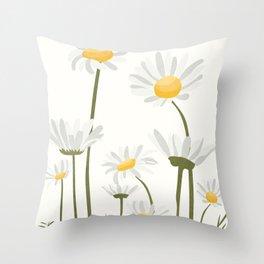 Summer Flowers III Throw Pillow