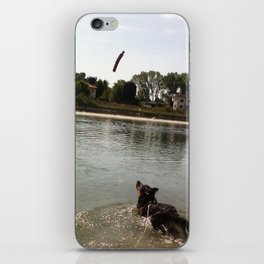 Maya is about to take the stick iPhone Skin